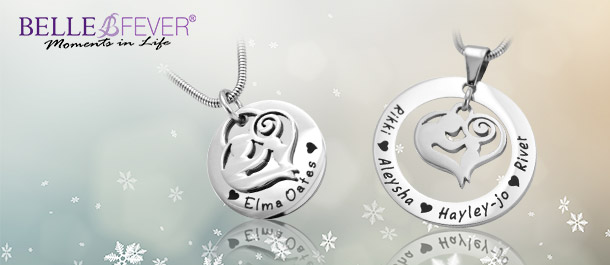 Personalised Necklaces for Mums