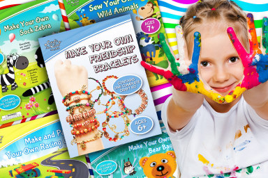 Craft Books & Kits For Kids