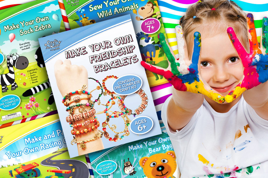 Craft Books & Kits For Kids