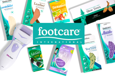 All New Footcare Range & More
