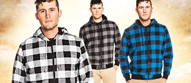Men's Hooded Jackets