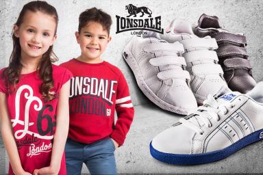 Lonsdale Kids' Apparel & Footwear