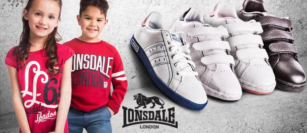 Lonsdale Kids' Apparel & Footwear