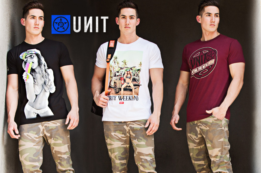 Unit Men's Summer Tees & Backpacks
