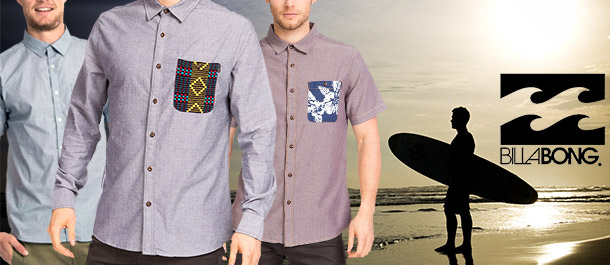 Men's Billabong Shirts Under $20