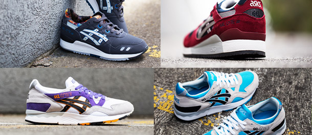 ASICS Retro Footwear Collection
