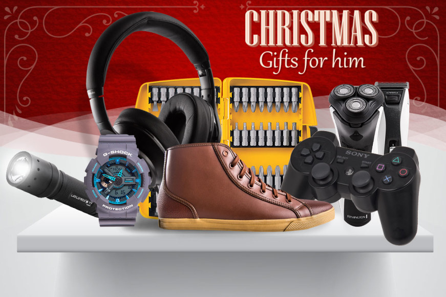 Christmas Gift Guide: Everything For Him