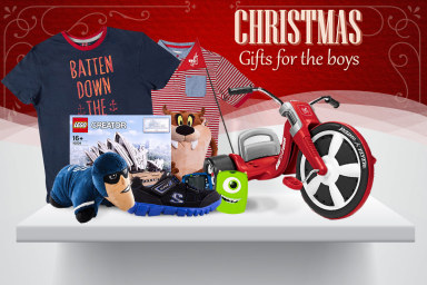 Christmas Gift Guide: Everything For Boys