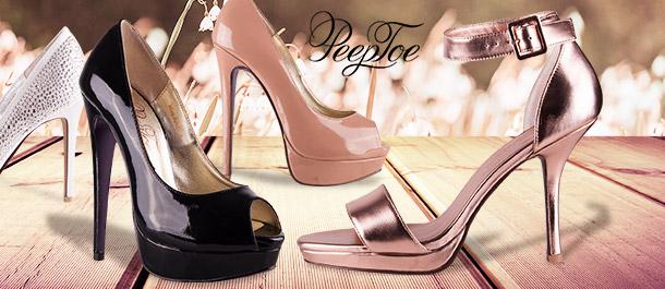 PeepToe Women's Footwear