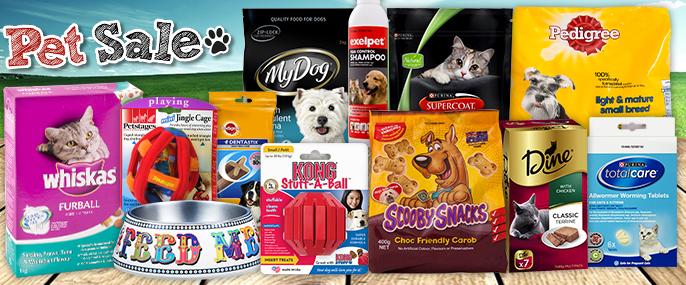 Mega Pet Sale - Barking Mad Prices!