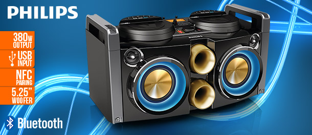 Philips Bluetooth Hi-Fi System