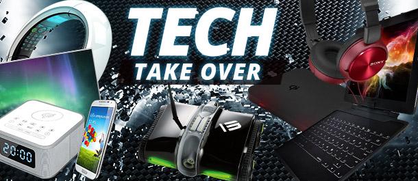 Not-So-Hostile Tech Take Over
