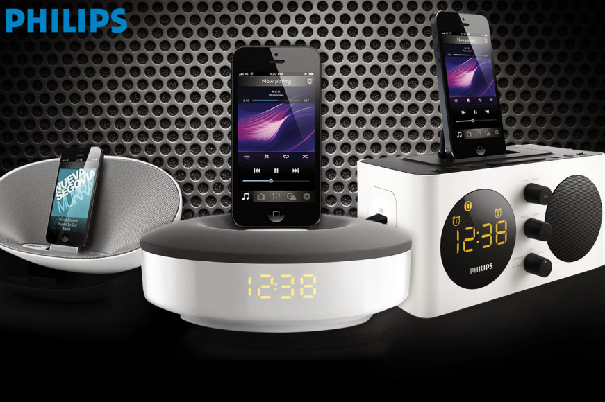 Philips iPhone 5/6 Speaker Docks