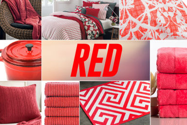 Everything For Home In Red