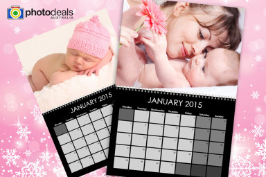 Personalised A4 Wall Calendars