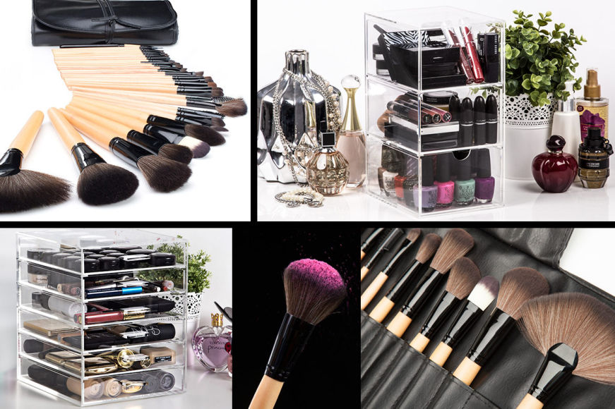 Bella Brushes, Cosmetic Organisers & More