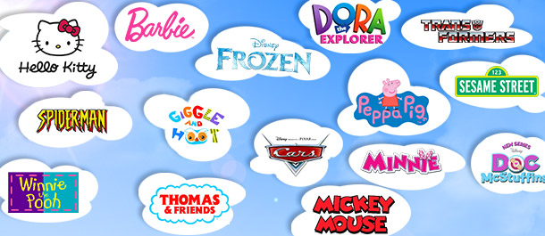 Kids' Licensed Products Mega Sale