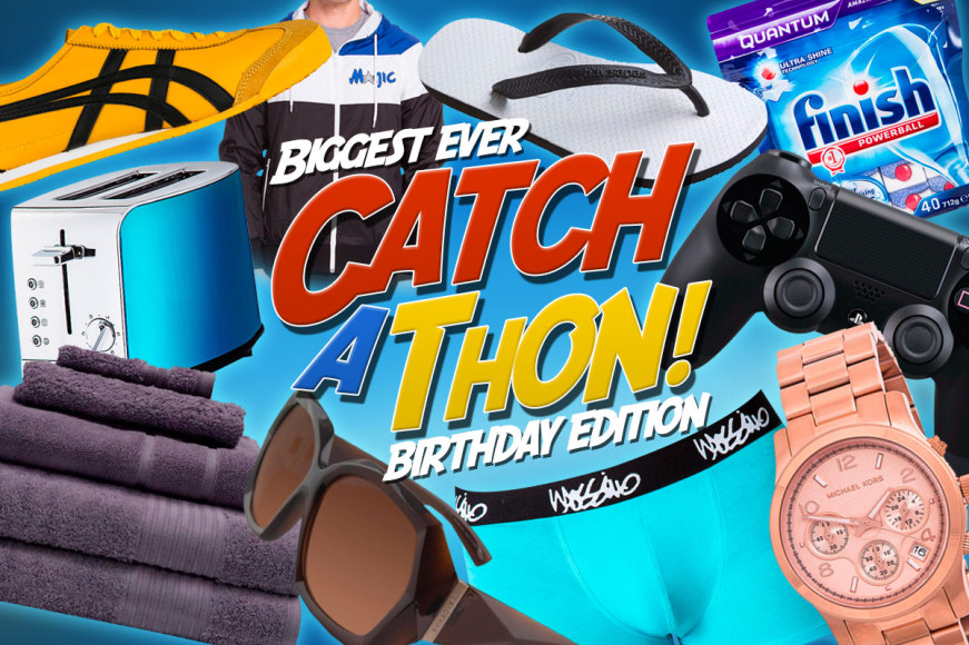 CATCHATHON Birthday Edition: Over 800 Bargains