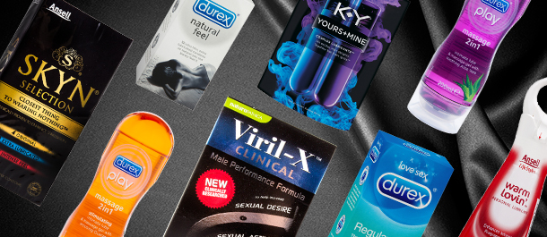 Adults Only: Durex, Ansell, KY & More