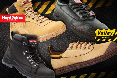 Hard Yakka & Volley Work Boots & Footwear