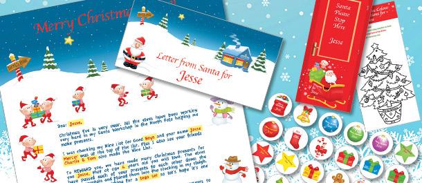 Personalised Santa Gifts