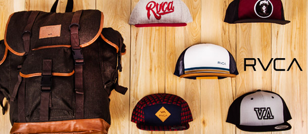 RVCA Caps & Bags