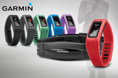 Garmin vívofit + Heart Rate Monitors