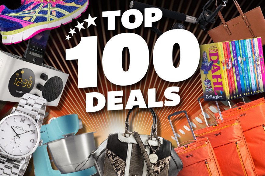 Top 100 Deals - The Biggest Brands
