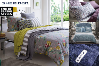 Over 150 Sheridan Bed & Bath Classics