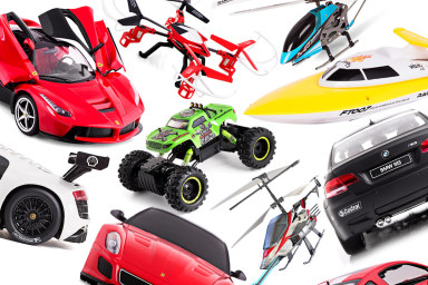 R/C Cars, Choppers & More