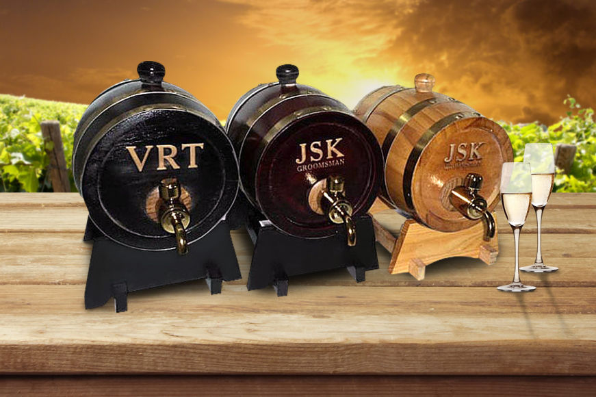 Personalised Alcohol Barrel