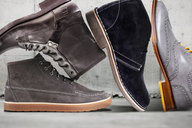 Men's Footwear Feature: Boots & Lace-Ups
