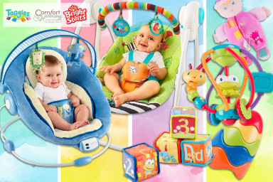 Bright Starts & Taggies Nursery Range