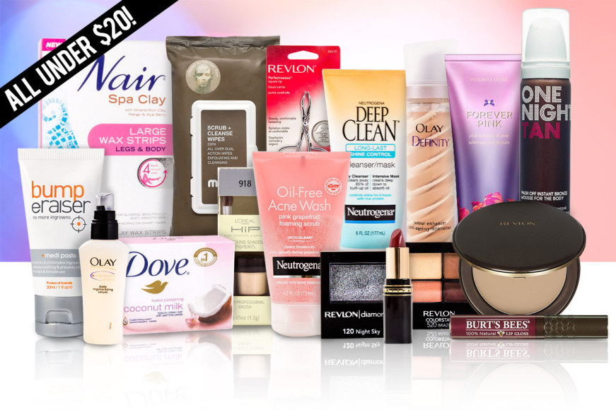Cosmetics & Skincare Deals Under $20