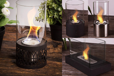 Decorative Bioethanol Glass Burners