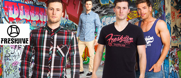 Freshjive Men's Clothing