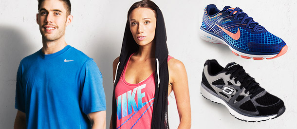 Train Hard With ASICS, Nike & More