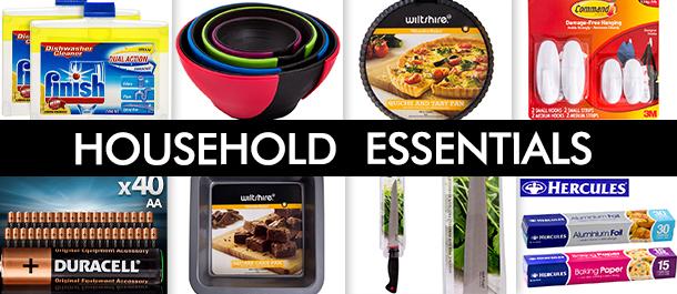150+ Household Essentials