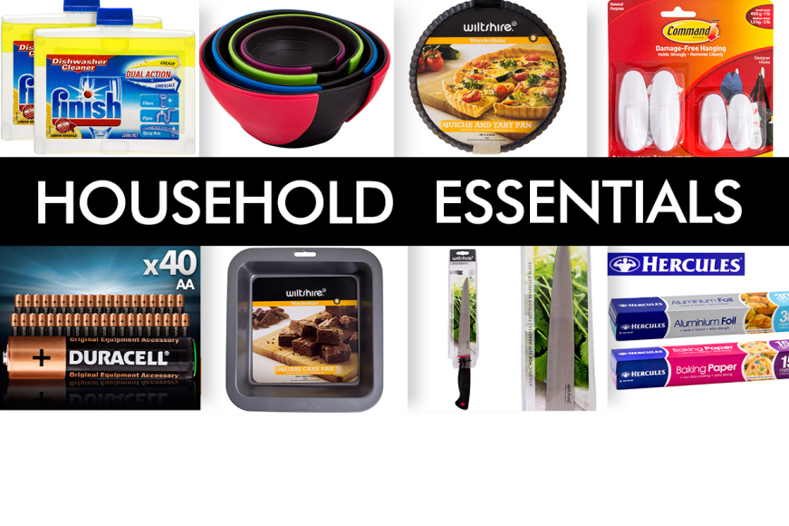 150+ Household Essentials