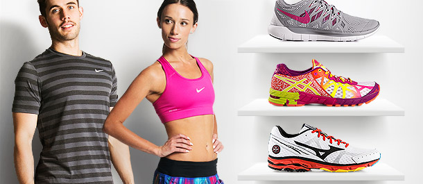 Running Apparel & Footwear Deals