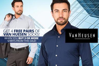 New Van Heusen Business Shirts