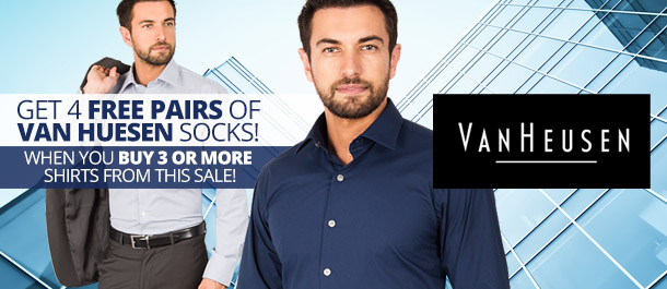 New Van Heusen Business Shirts