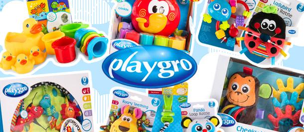Playgro Developmental Toys