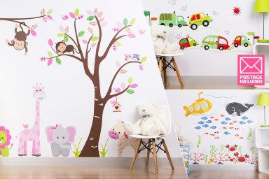 Wall Decals For The Playroom