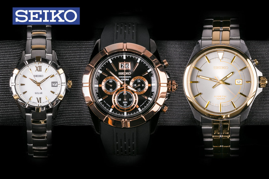 Seiko Watches For Men & Women