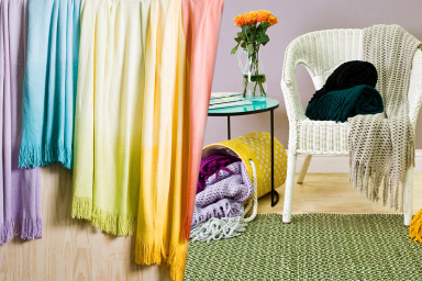 Colourful Throws For Summer