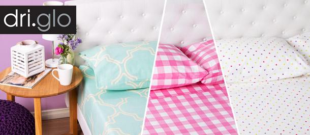 Dri Glo Sheet Sets - All Sizes $29.99