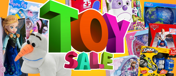 Our Biggest Ever Toy Sale