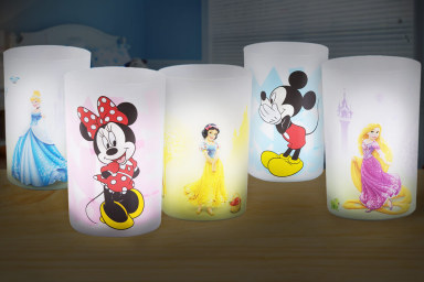 Licensed Disney LED Nightlights