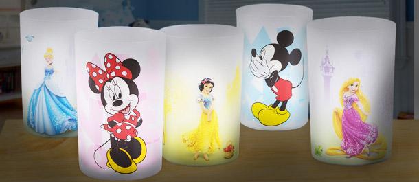 Licensed Disney LED Nightlights